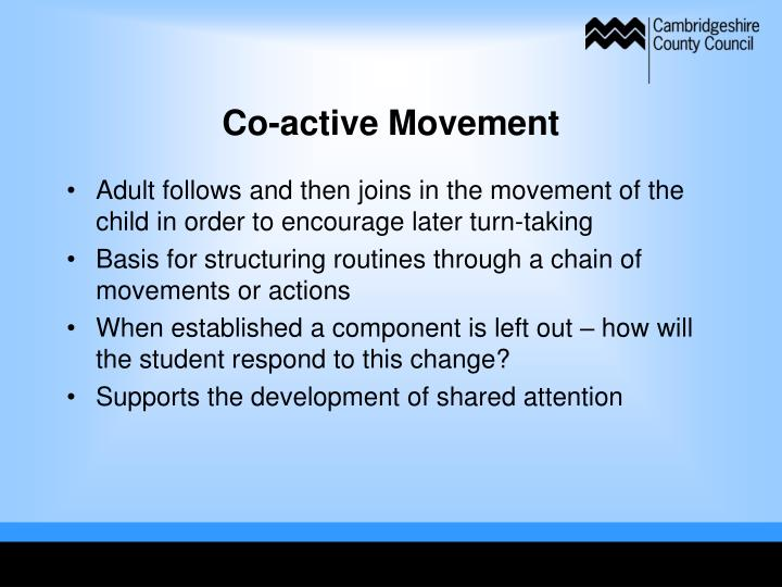 Co-active Movement