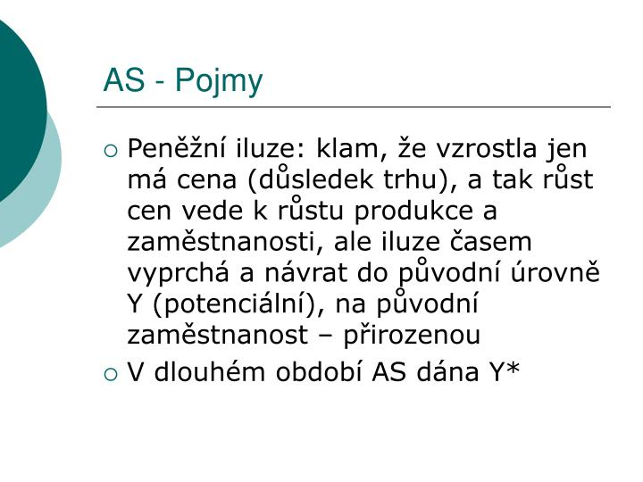 AS - Pojmy