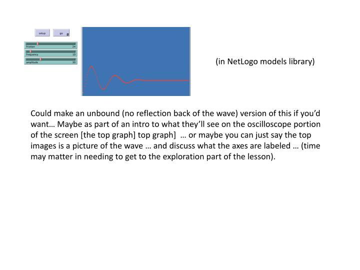 (in NetLogo models library)