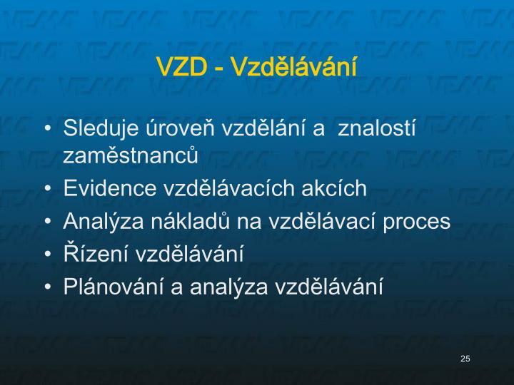 VZD - Vzdělávání