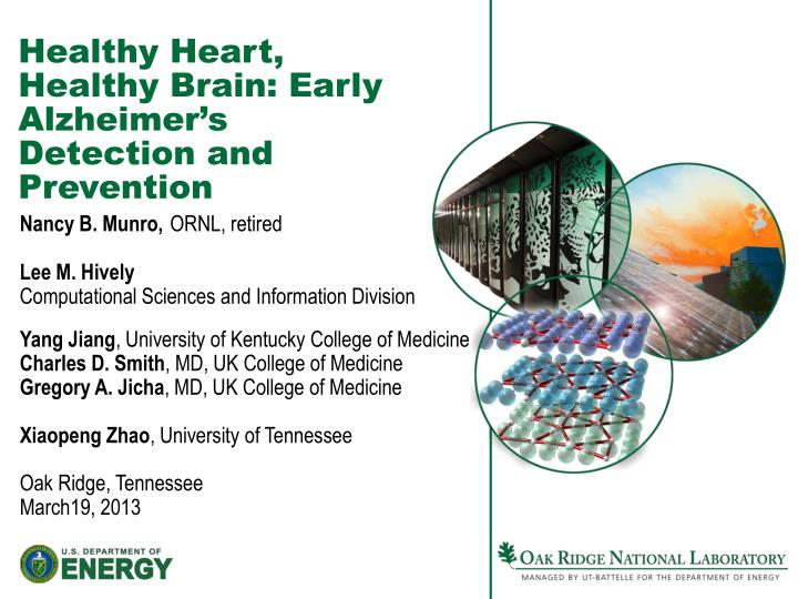 Healthy Heart, Healthy Brain: Early Alzheimer's Detection and Prevention