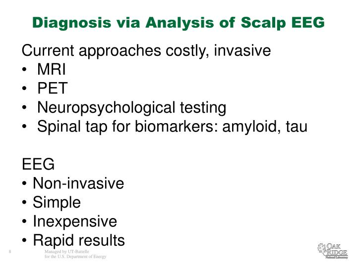 Diagnosis via Analysis of Scalp EEG