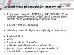 zv en mezd pedagogick ch pracovn k
