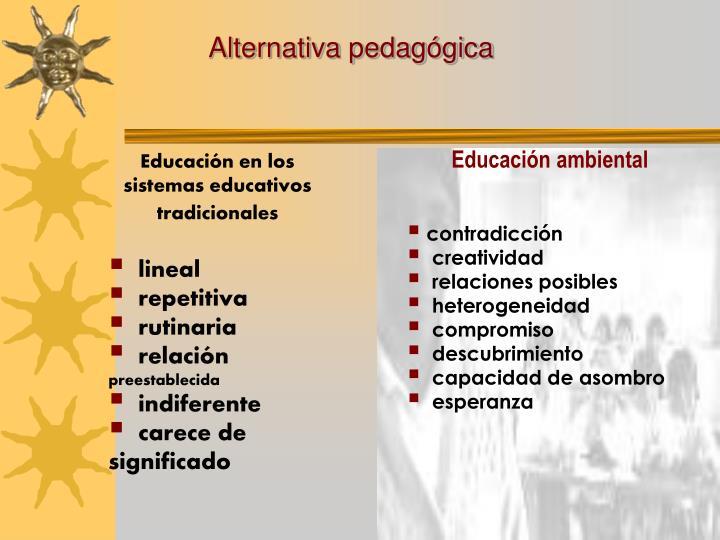 Alternativa pedagógica