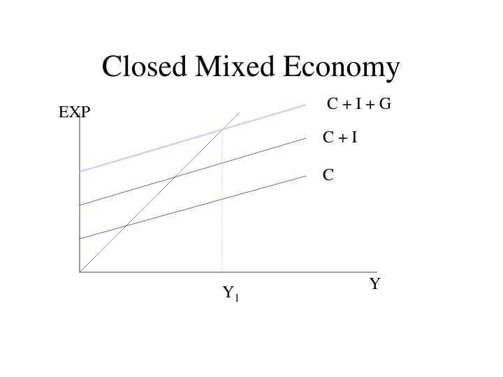 Closed Mixed Economy