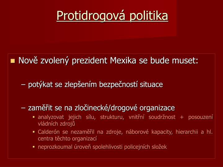 Protidrogová politika