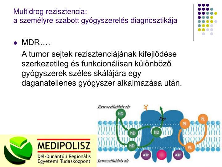 Multidrog rezisztencia:
