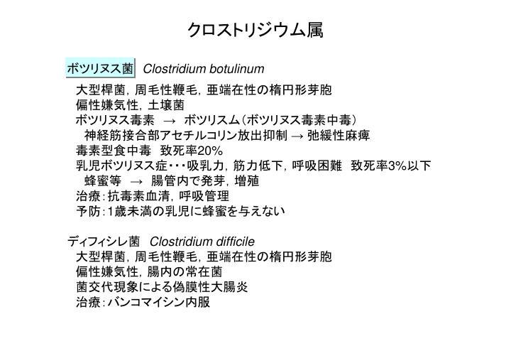 クロストリジウム属