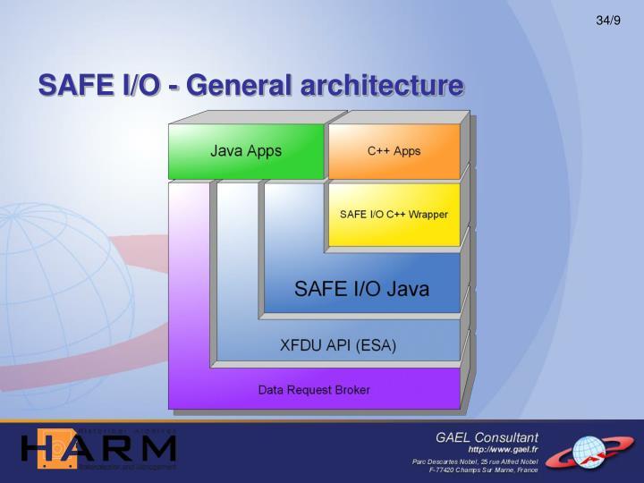 SAFE I/O - General architecture