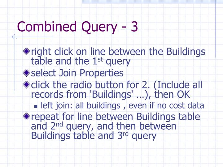 Combined Query - 3