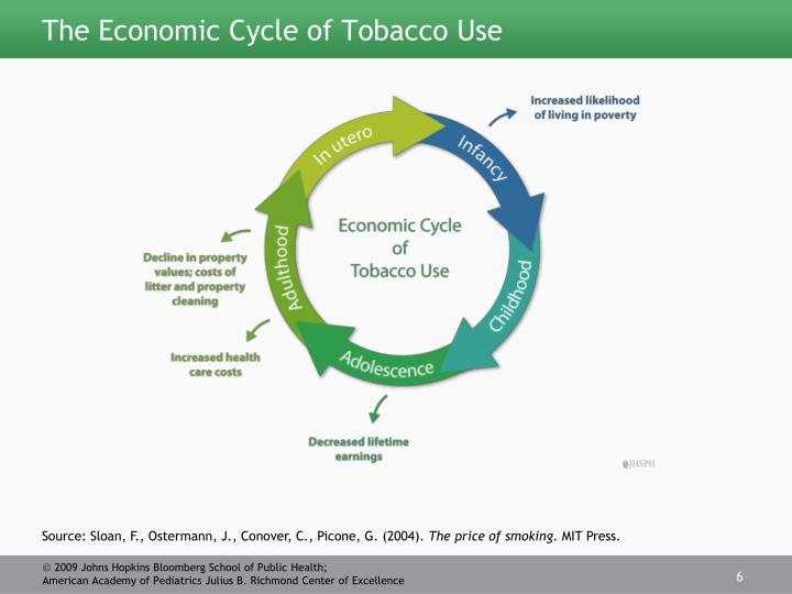 The Economic Cycle of Tobacco Use