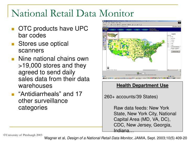 National Retail Data Monitor