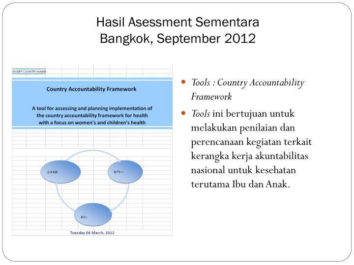 Hasil Asessment