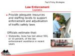 law enforcement legislative