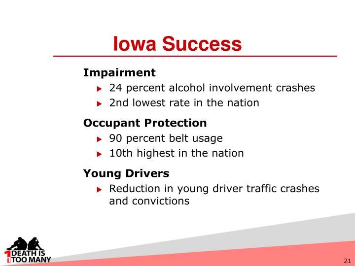 Iowa Success