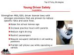 young driver safety legislative