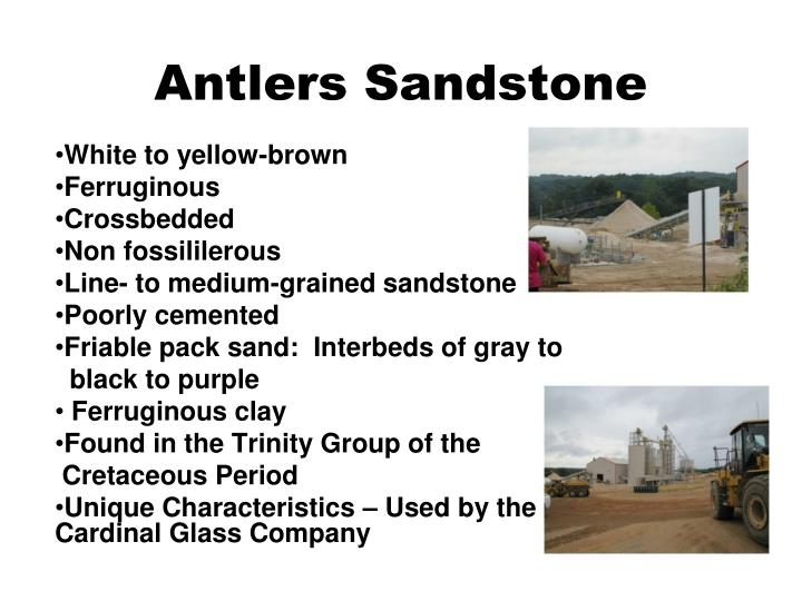 Antlers Sandstone