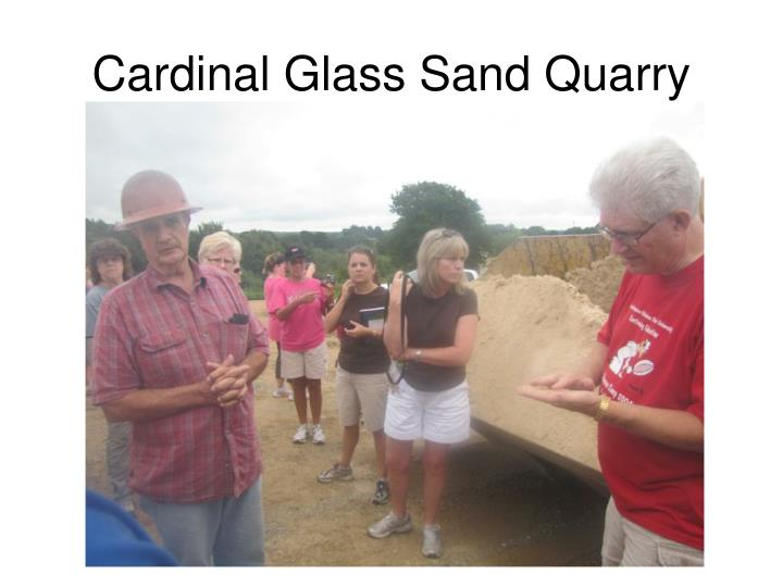 Cardinal Glass Sand Quarry