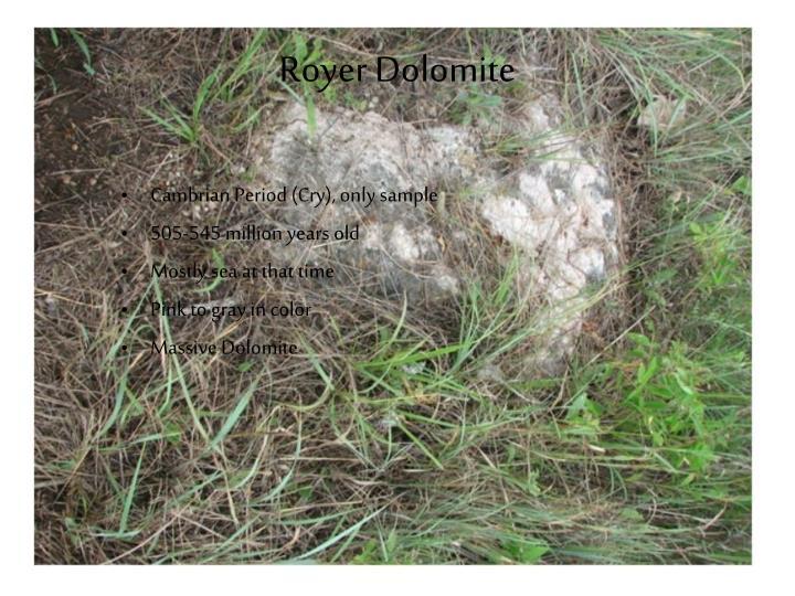 Royer Dolomite