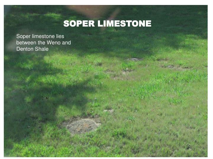 SOPER LIMESTONE