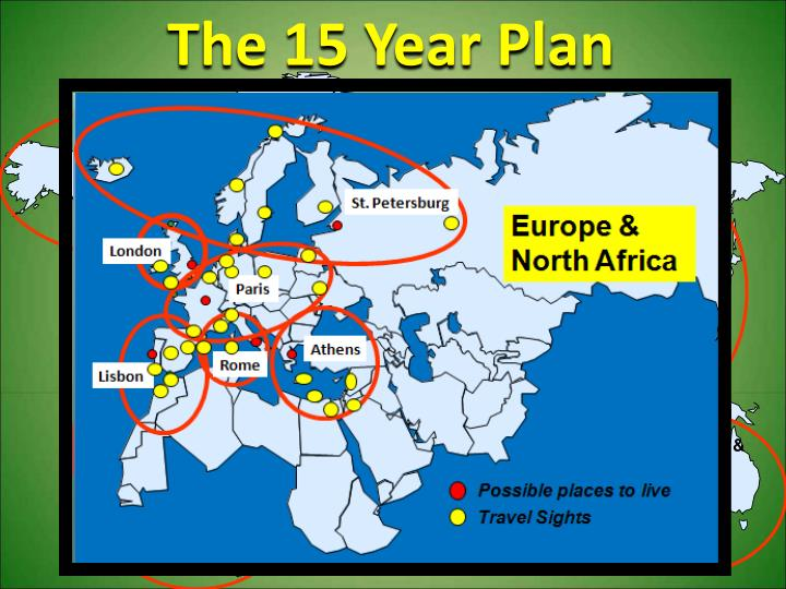 The 15 Year Plan