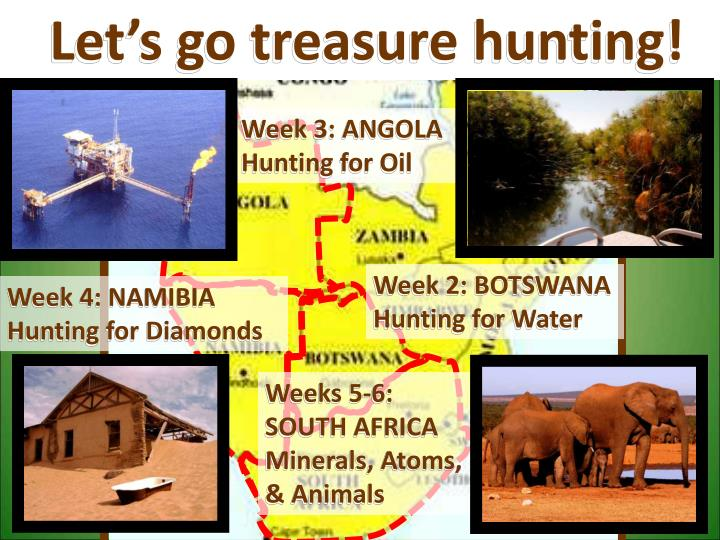 Let's go treasure hunting!