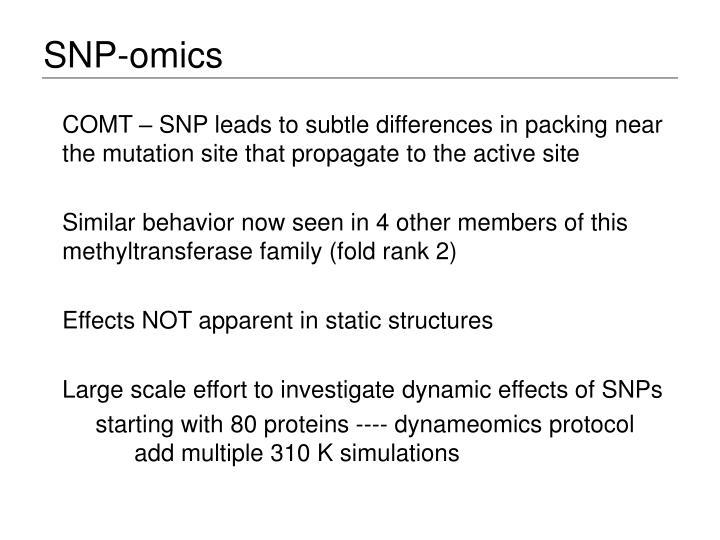 SNP-omics
