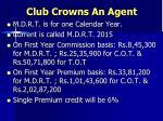 club crowns an agent2