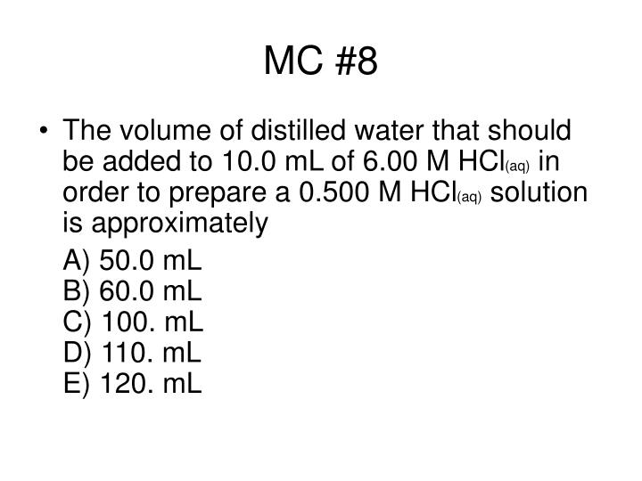 MC #8