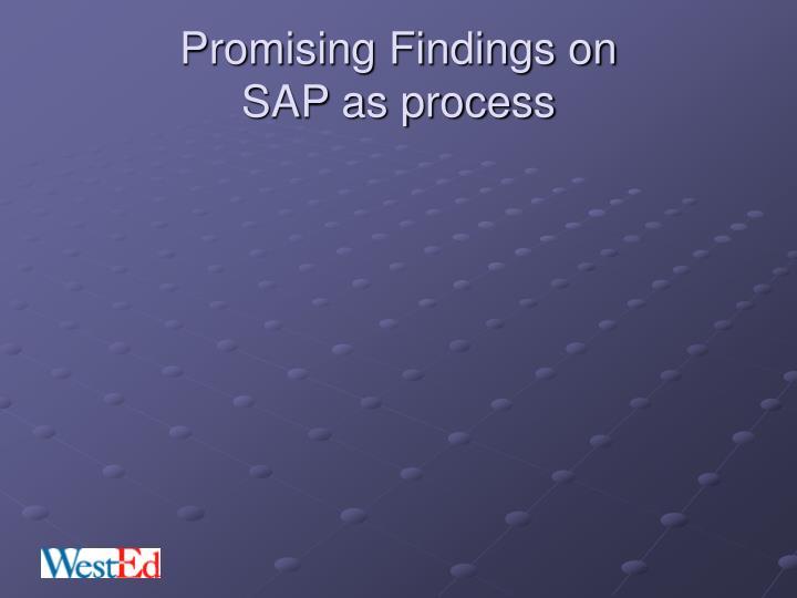 Promising Findings on
