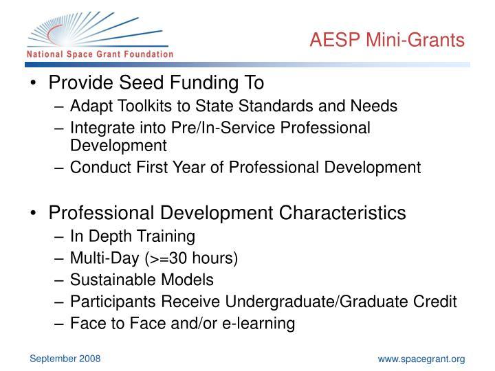 AESP Mini-Grants