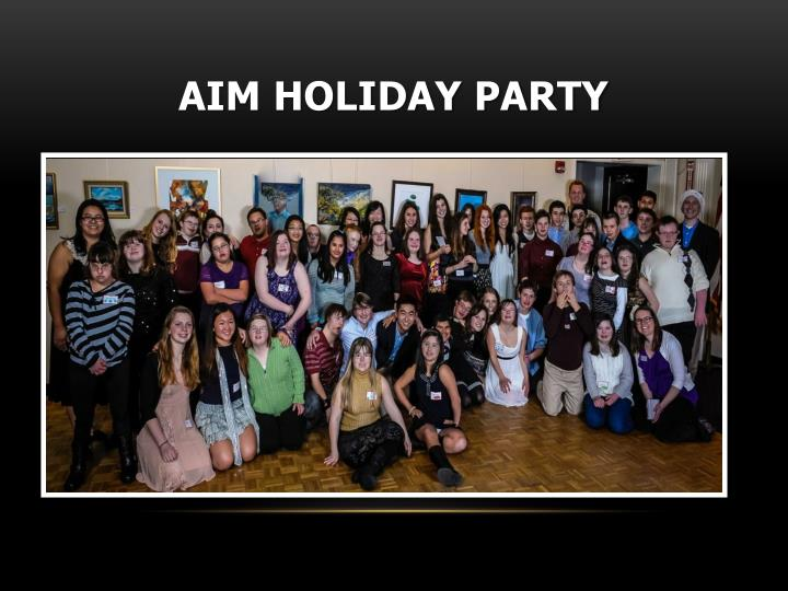 AIM Holiday Party