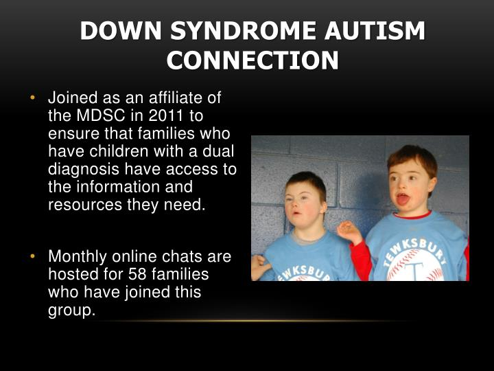 Down Syndrome Autism Connection