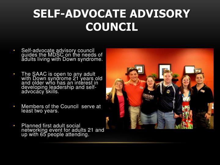 Self-Advocate Advisory Council