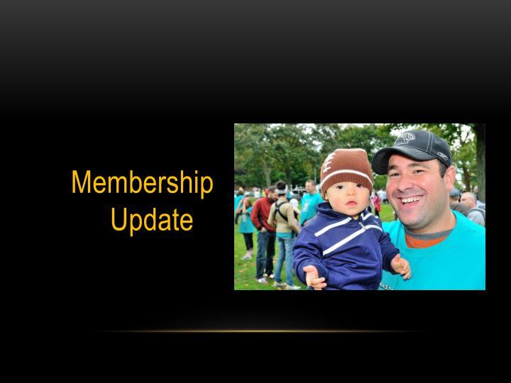 Membership Update