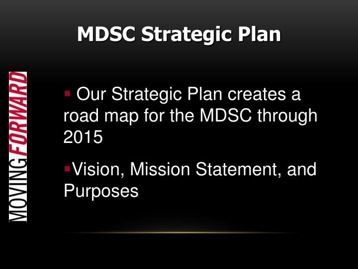 MDSC Strategic Plan