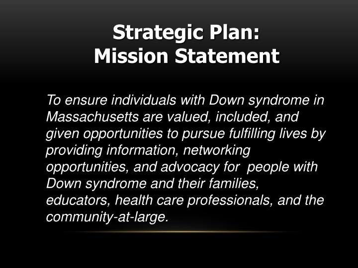 Strategic Plan: