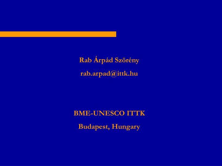 Rab Árpád Szörény