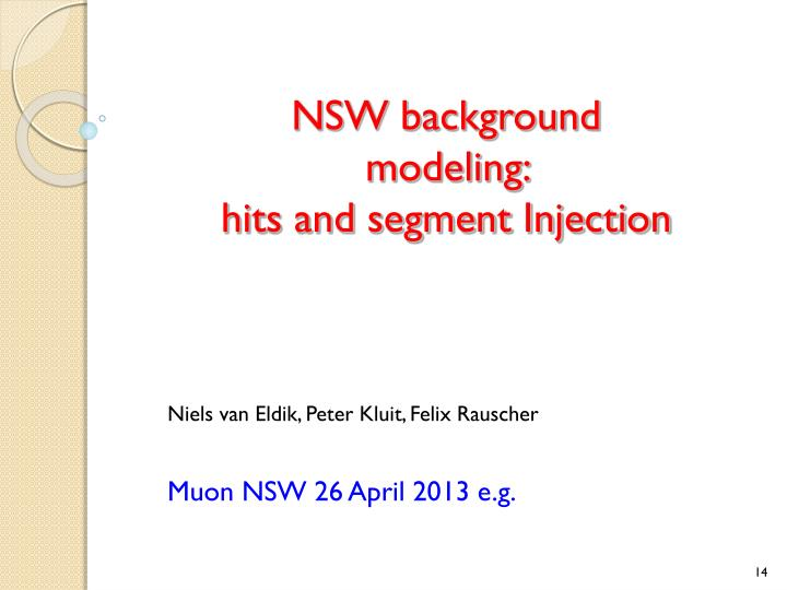 NSW background