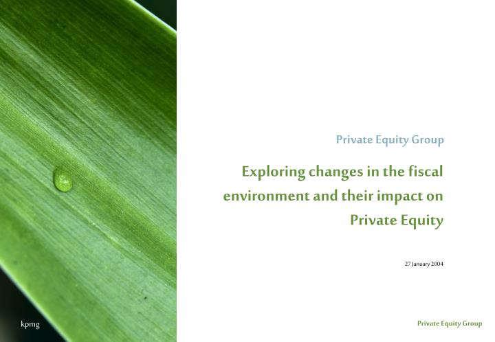Private Equity Group