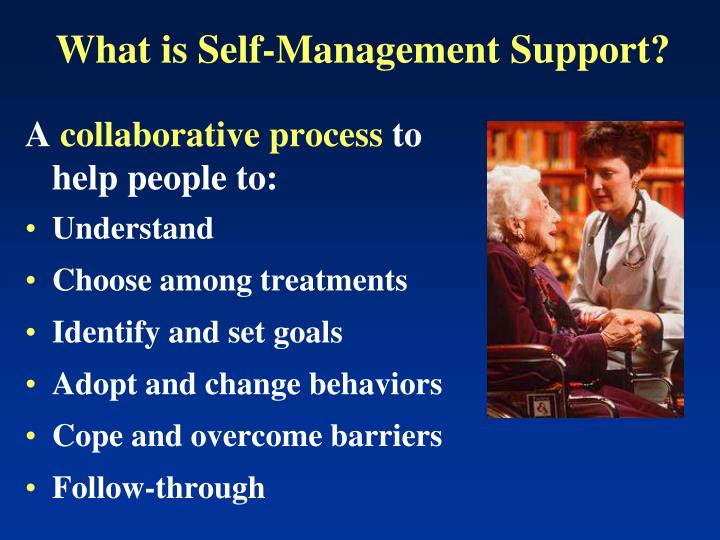 What is Self-Management Support?