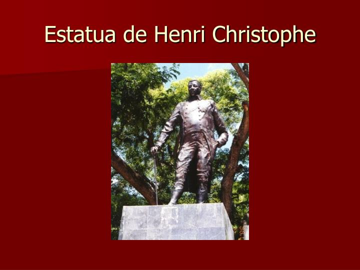 Estatua de Henri Christophe