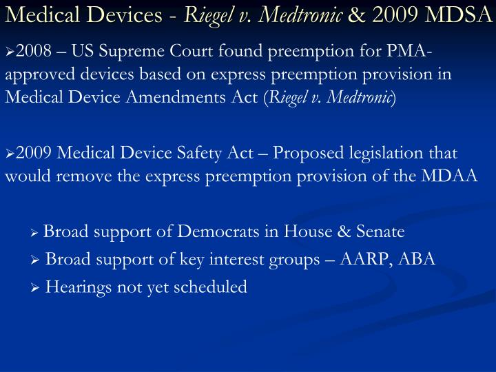 Medical Devices -
