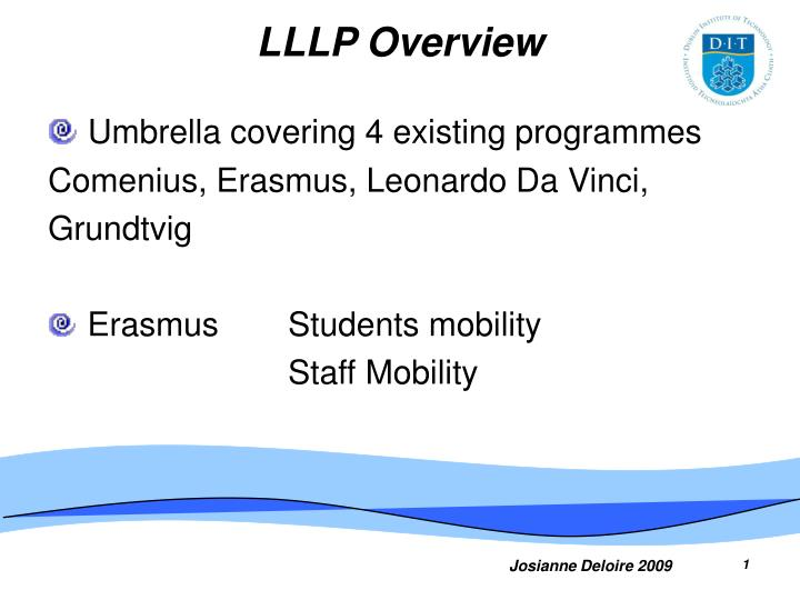 Lllp overview