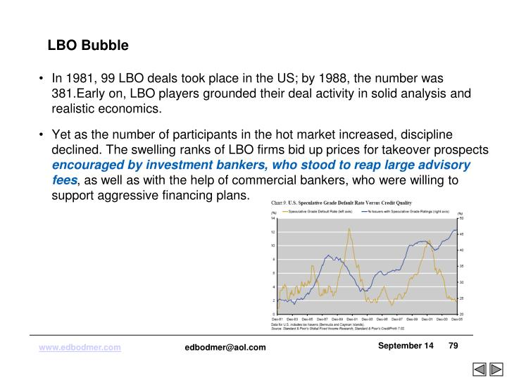 LBO Bubble