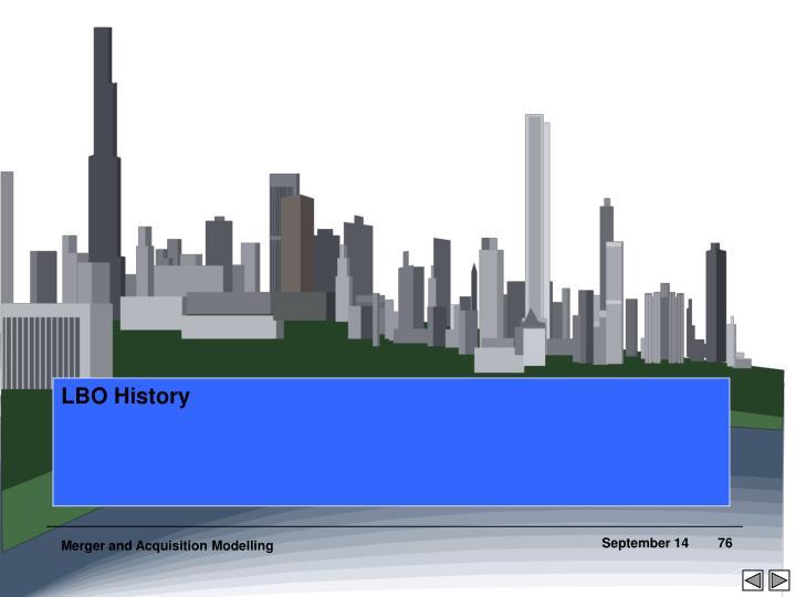 LBO History