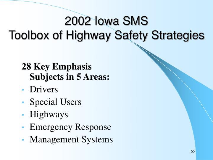 2002 Iowa SMS