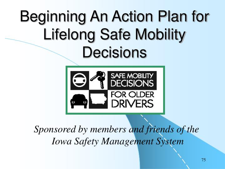 Beginning An Action Plan for