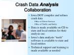 crash data analysis collaboration