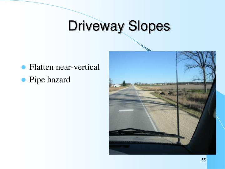 Driveway Slopes
